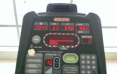 30 min. cross trainer