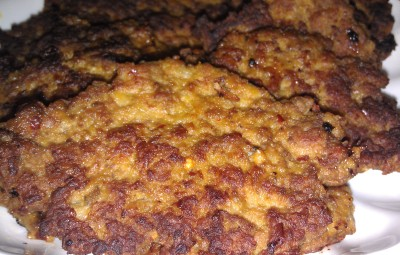 meat and potato cutlet