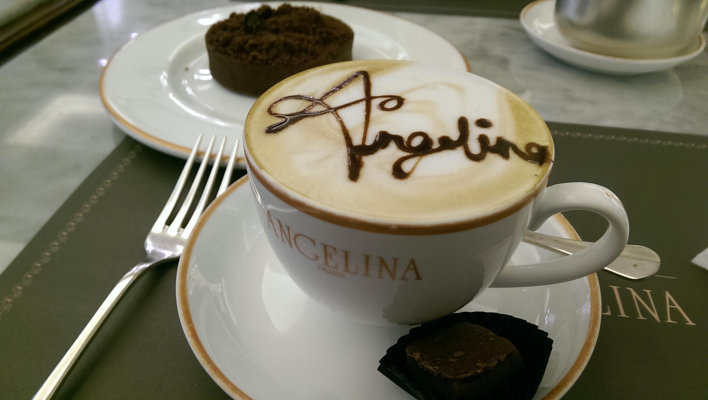 Mocha-chino at Angelina Cafe MOE