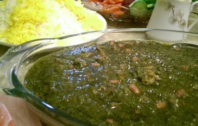 Persian Traditional GhormehSabzi