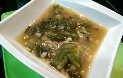Green Thick Soup