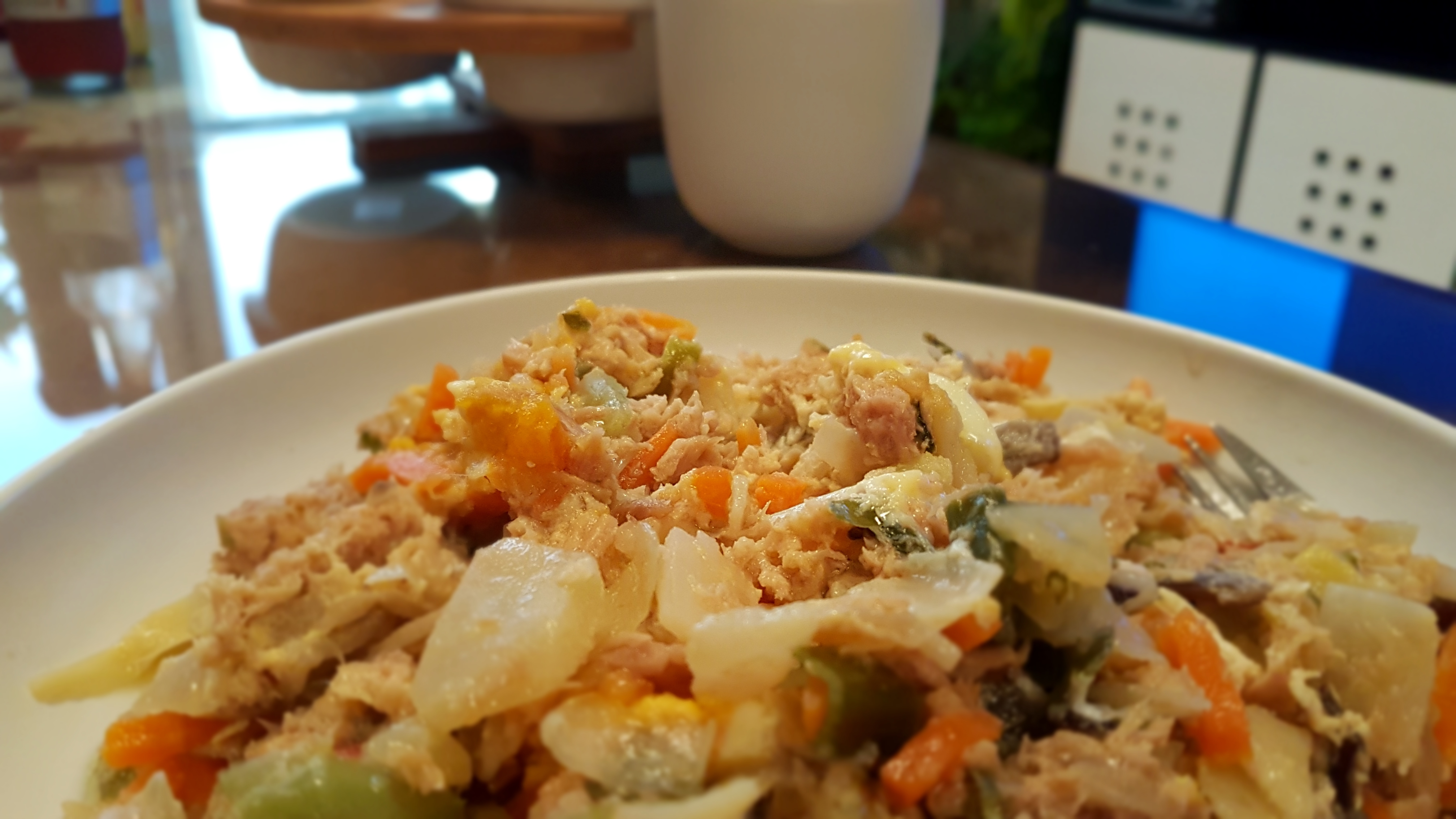 Oriental Mix Omelet   املت سبزیجات مخلوط آسیایی