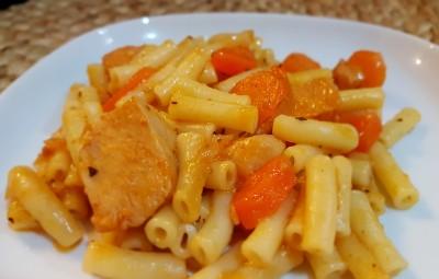 Carrots Chicken Mini macaroni