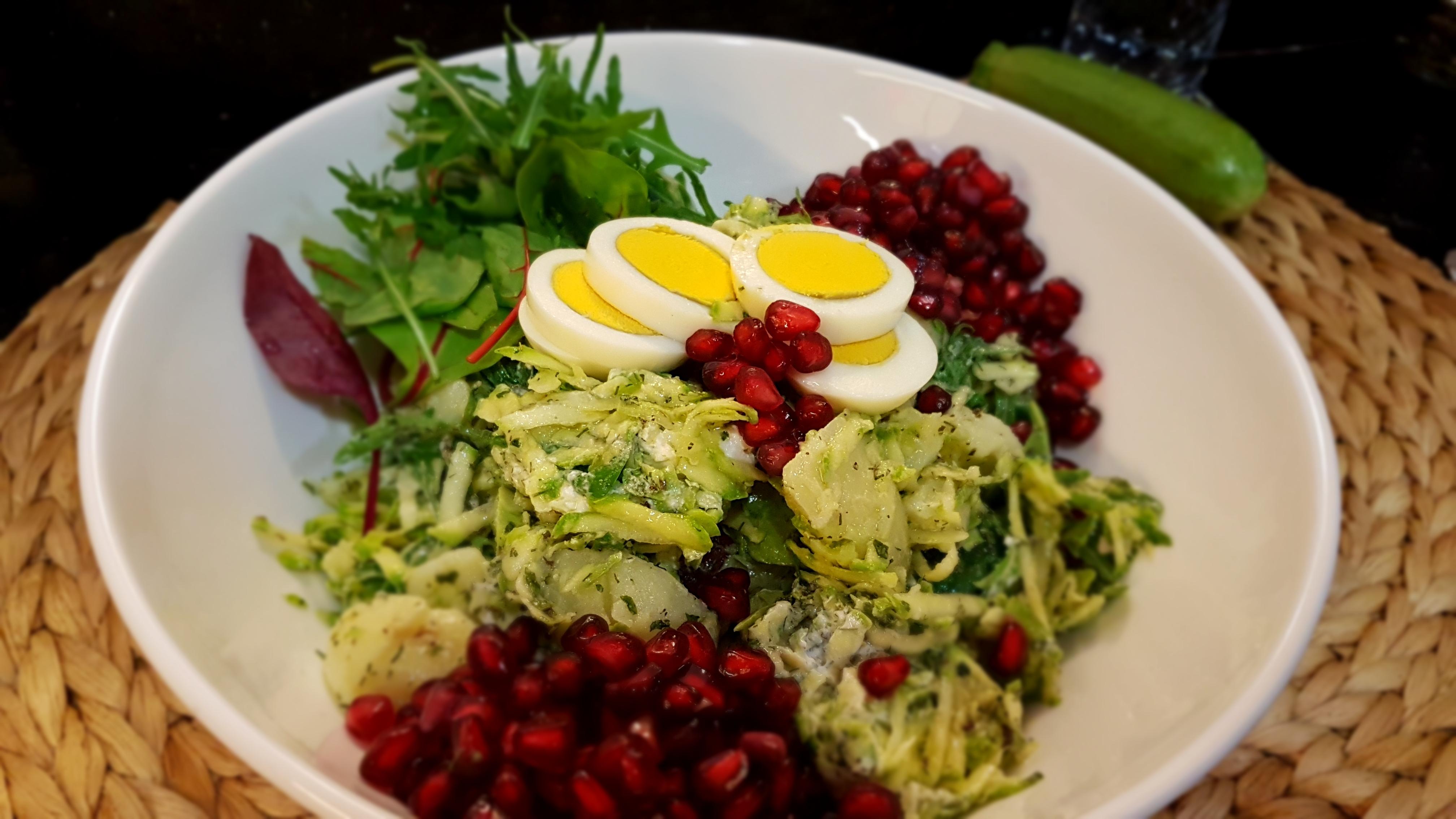 Magic of zucchini Salad   معجزه سالاد کدو