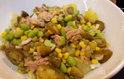 PotatoSoy salad