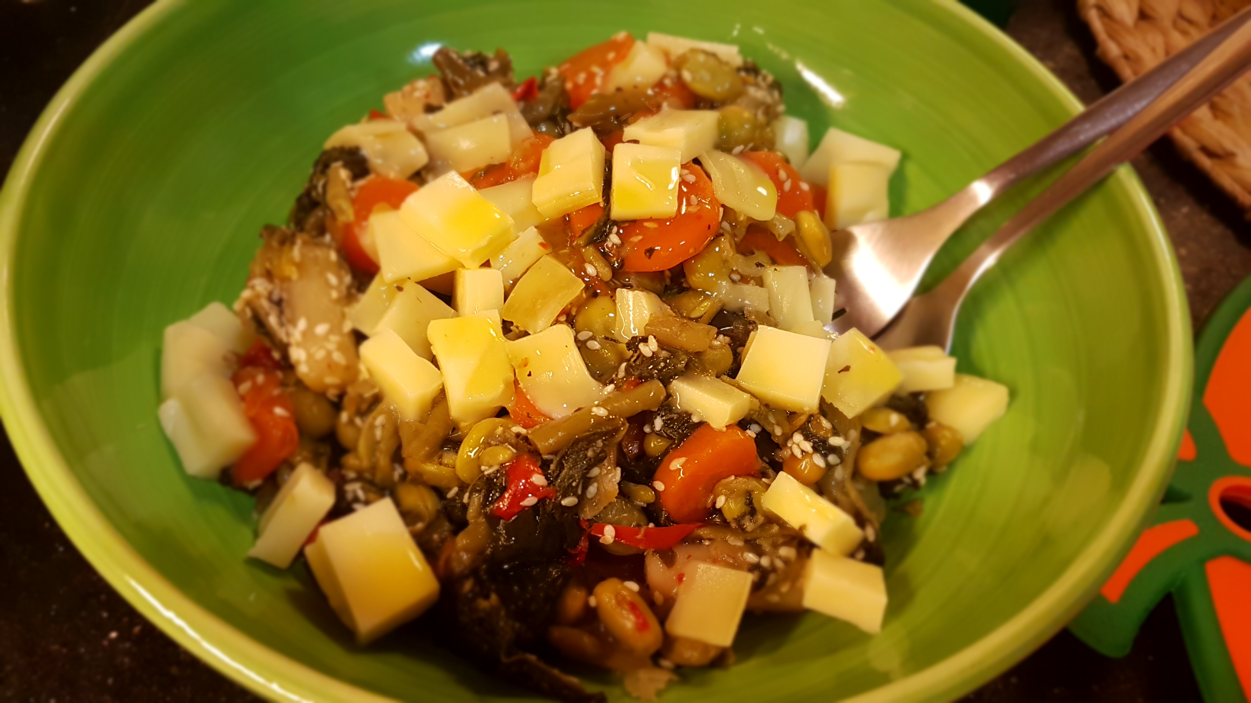 Dinner Freshness Salad  بالعافیه