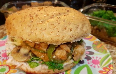 Chicken Garlic sandwich