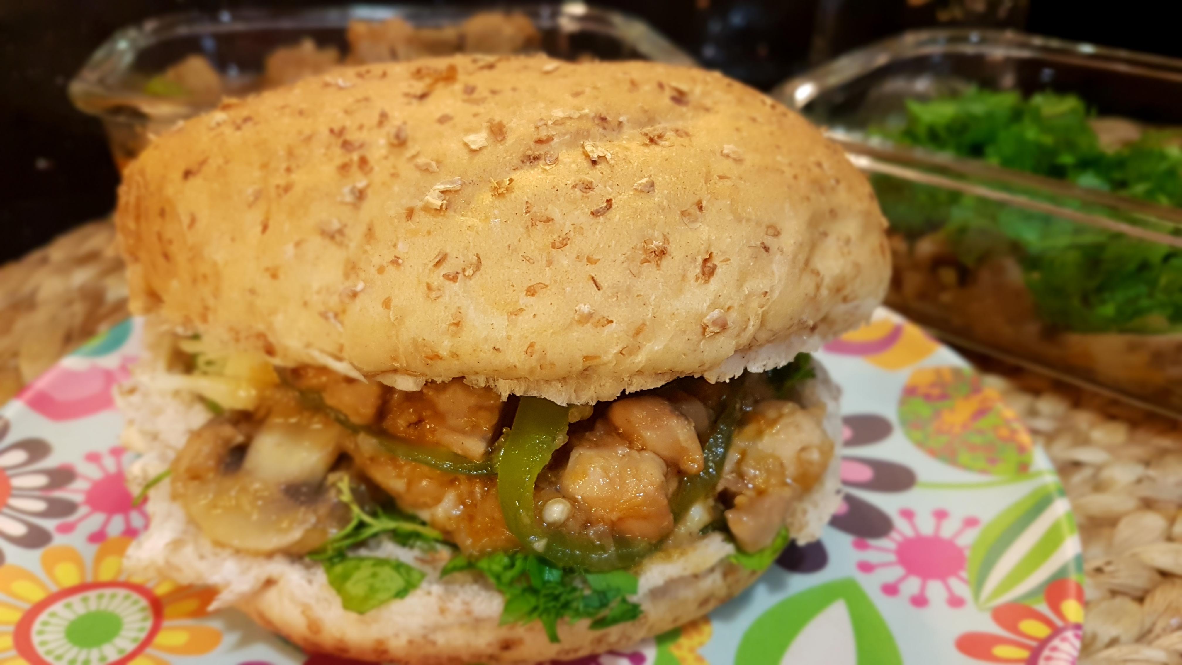 Chicken Garlic sandwich